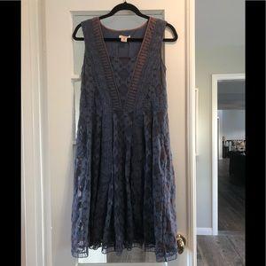 Anthropologie Sundance Purple Dress